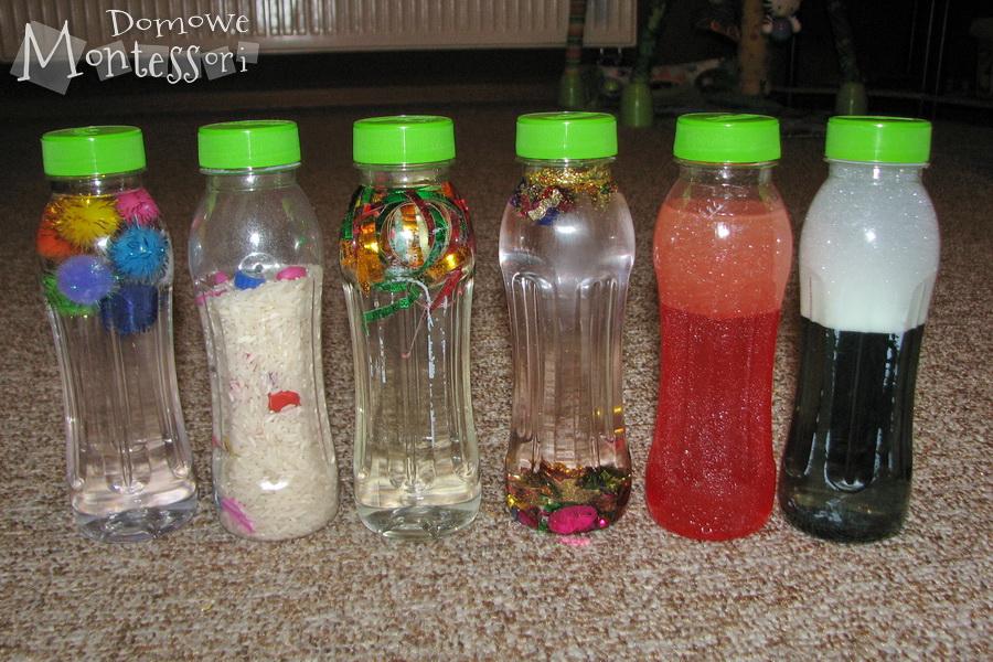 Nasze butelki sensoryczne