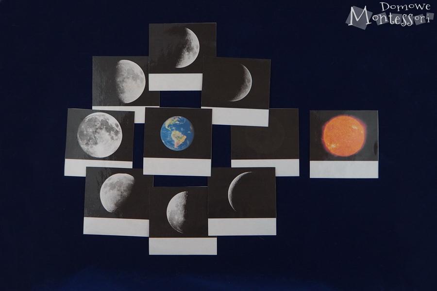 Karty zfazami księżyca
