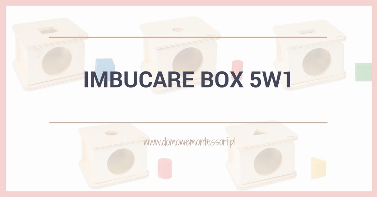Pudełko raz jeszcze, czyli imbucare box 5w1