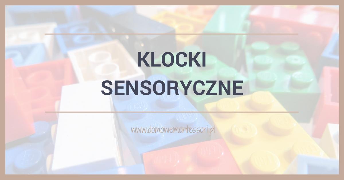Klocki sensoryczne