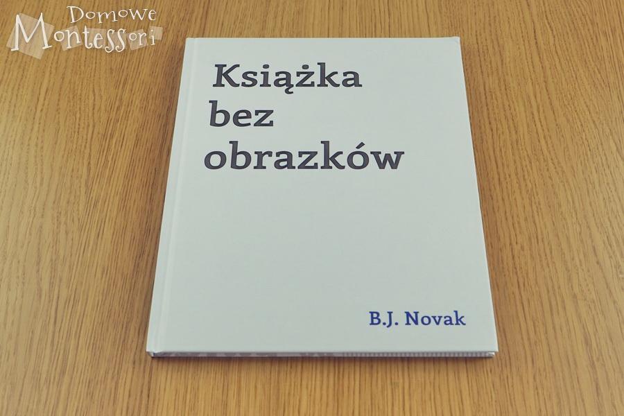 Książka bezobrazków