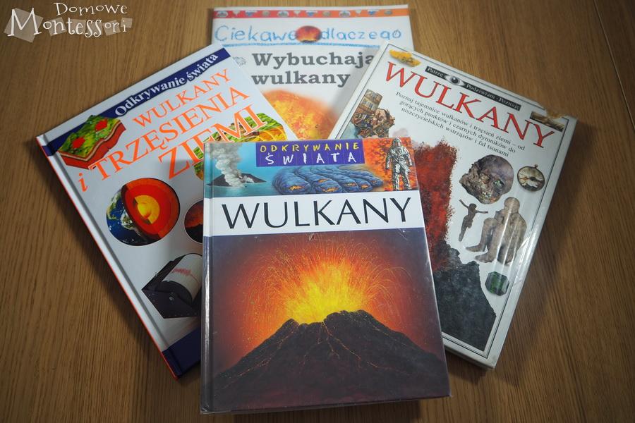 Książki o wulkanach