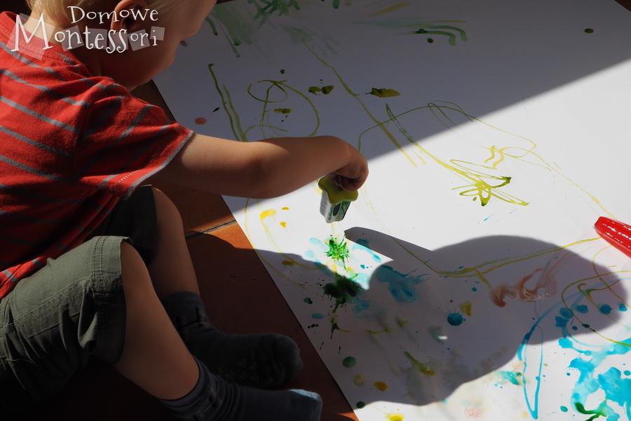 Malowanie przezkapanie