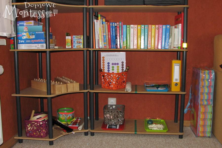 Półki Montessori