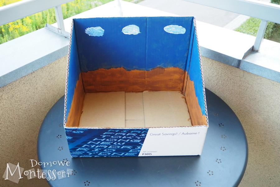 Pomalowane pudełko