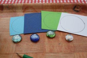 Sortowanie po kolorze - potrzebne materiały