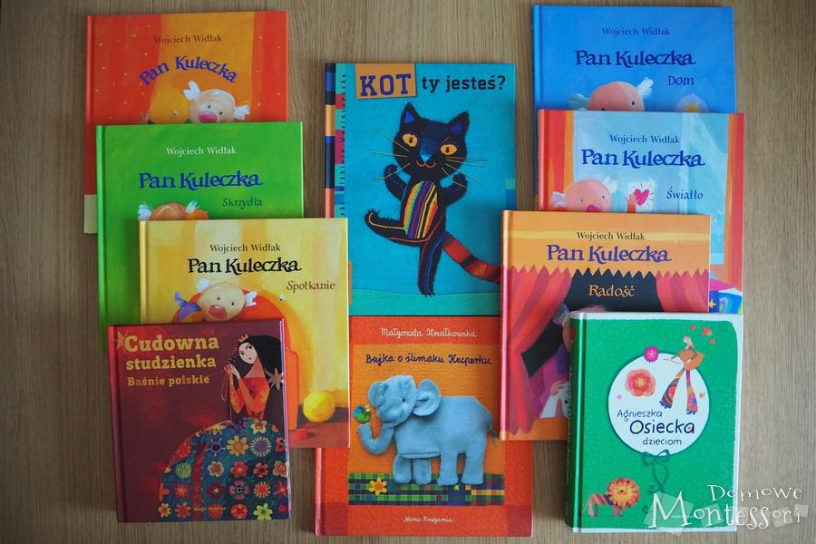 Nasze książki zilustracjami Wasiuczyńskiej