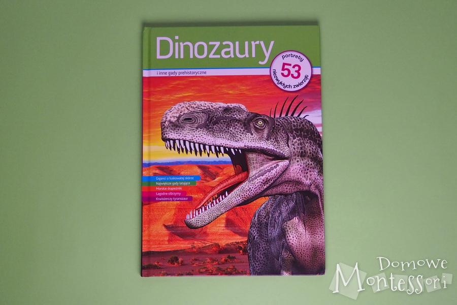 Książka - Dinozaury iinne gady prehistoryczne