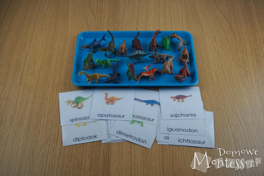 Karty zdinozaurami + figurki