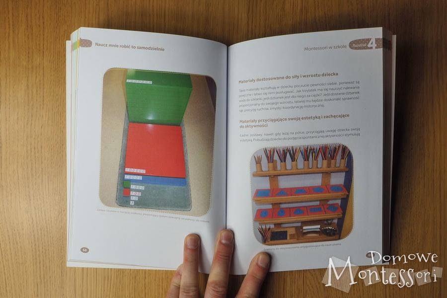 Metoda Montessori - wnętrze książki 1