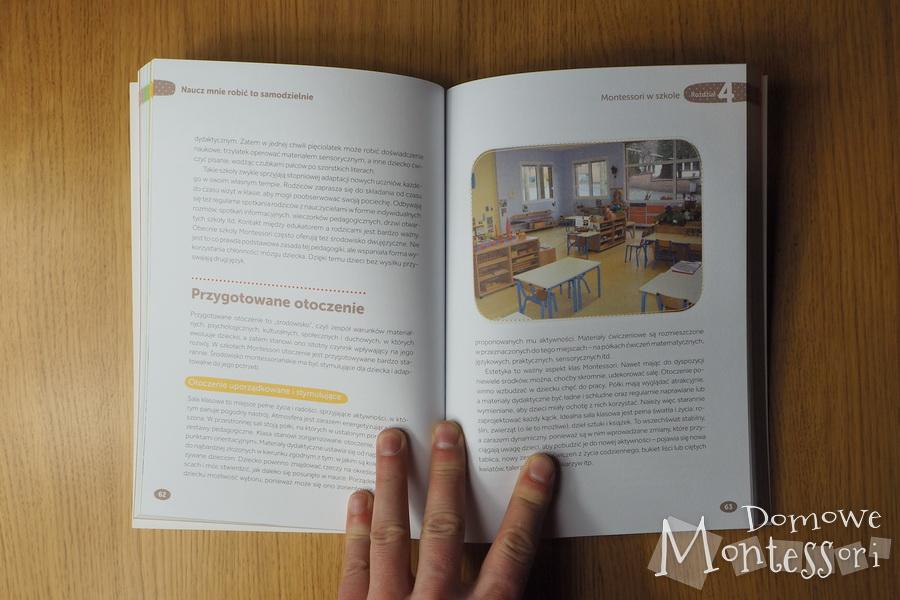 Metoda Montessori - wnętrze książki 2