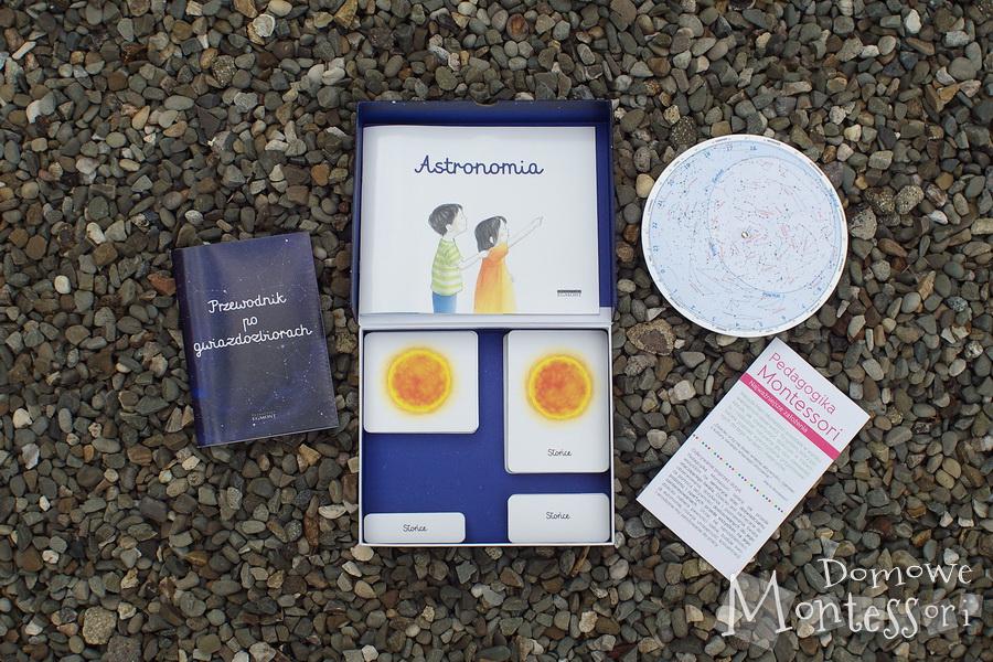Astronomia - zawartość pudełka