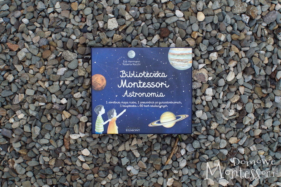 "Biblioteczka Montessori ""Astronomia"""