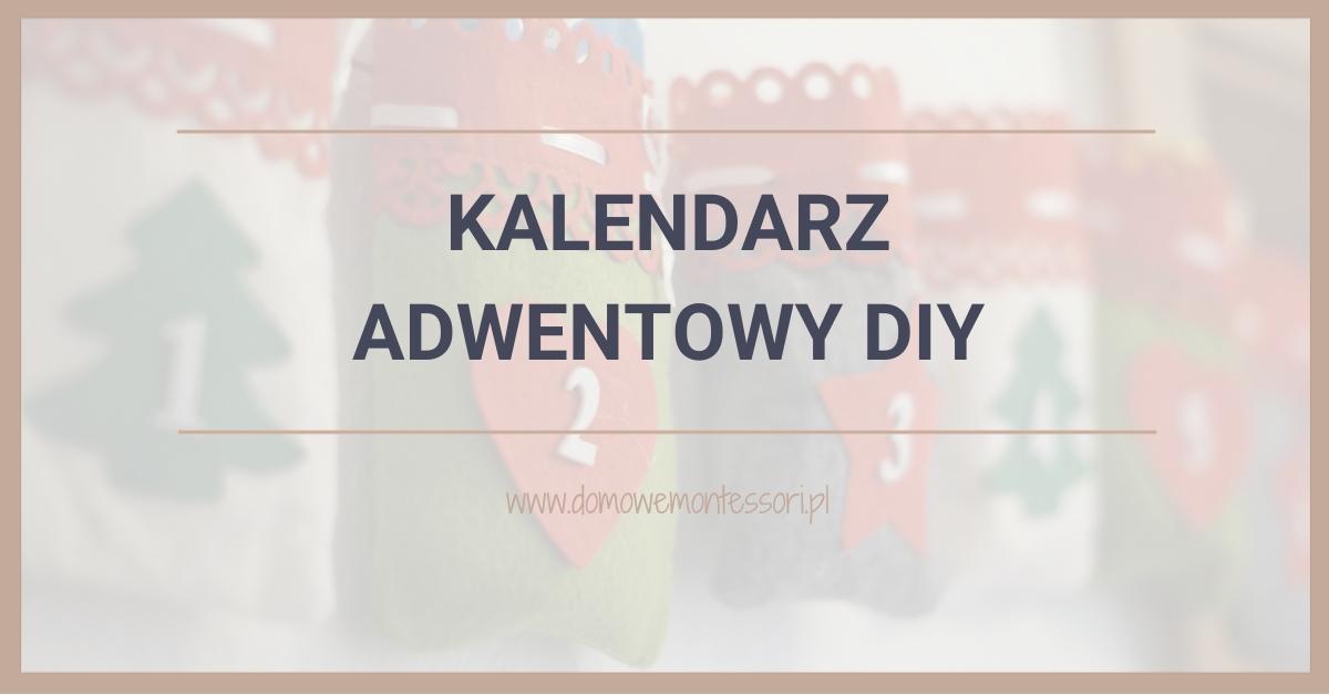 Kalendarz adwentowy DIY